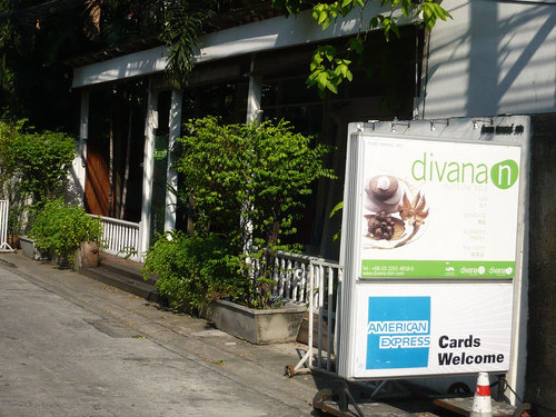 曼谷 DIVANA TEA ROOM
