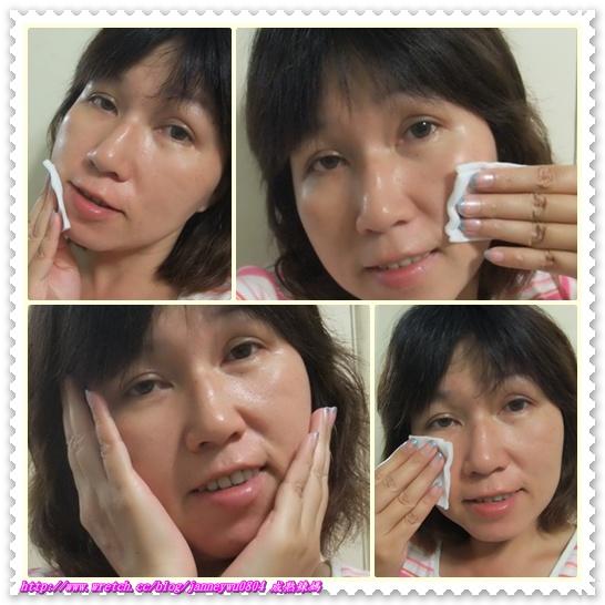 化妝水臉部使用