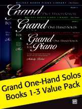 Grand One-Hand Solos Books 1-3