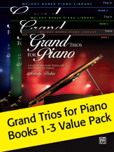 Grand Trios for Piano Books 1-3