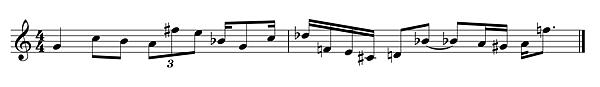 單旋律答案
