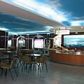 礁溪溫泉公園-遊客中心內