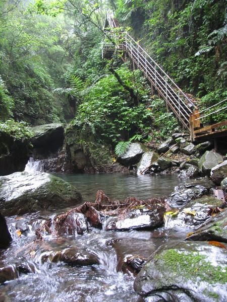 林美石磐步道內最美的一景~陡坡階梯