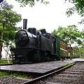 林業文化園區內的舊火車頭