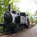 昔日運送樹木的舊火車頭