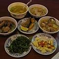 太平山莊的豐盛兩人晚餐