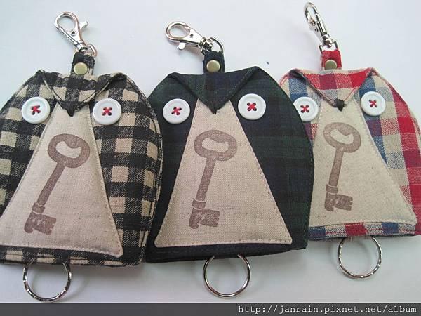 貓頭鷹鑰匙包