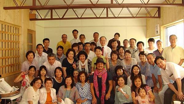 20120819 新会堂完成音楽伝道會ー加治太郎さんと全員51名