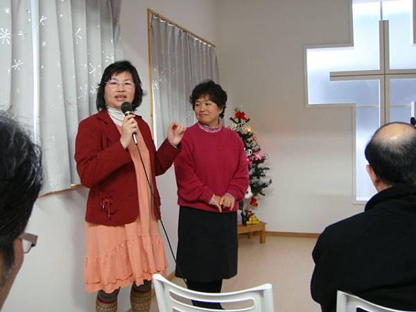 20121223 師母、淑美