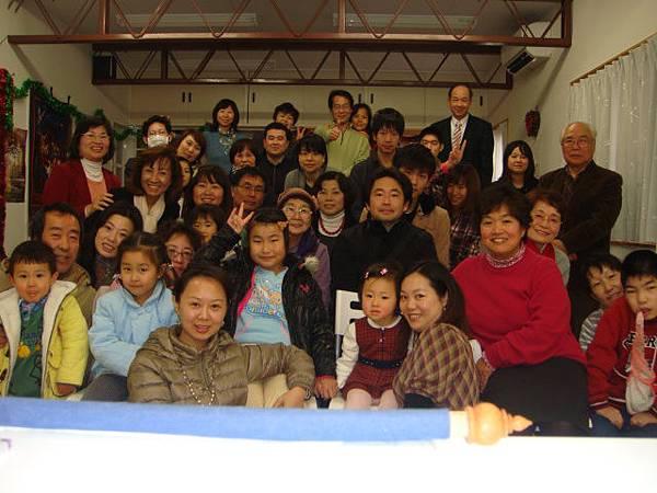 20121223 クリスマス祝會衆人