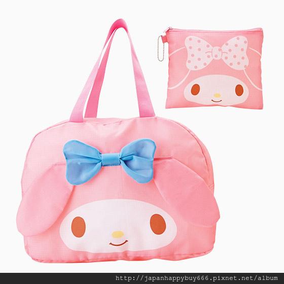 美樂蒂-三麗鷗3way波士頓旅行手提袋