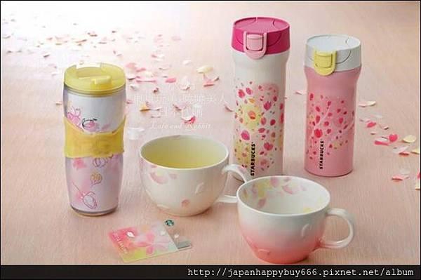 2015年日本粉美限定限量櫻花杯