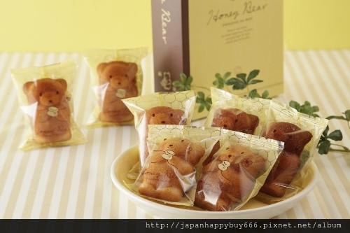 小熊蜂蜜造型蛋糕-5