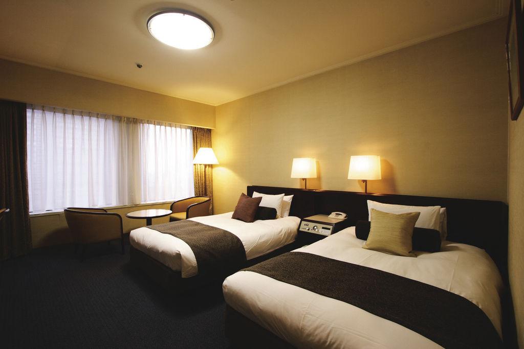 京王廣場飯店_南館精緻雙人雙床房間