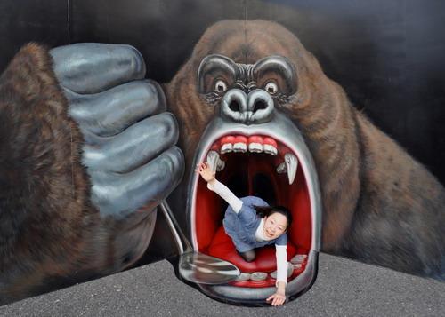 巨大猩猩的嘴巴500.jpg