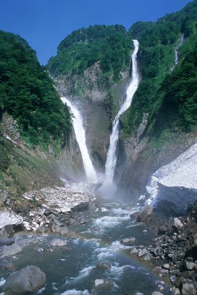黑部立山‧秋‧稱名瀑布