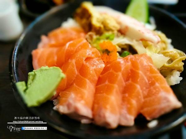 超值的鮭魚丼飯
