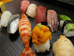 江戶前握壽司/握壽司(Nigiri-Sushi)