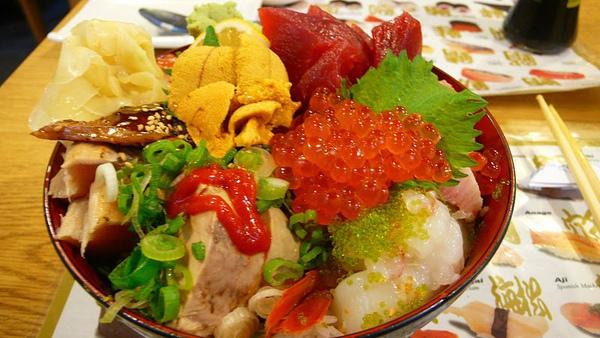 散壽司(Chirashi-Sushi)