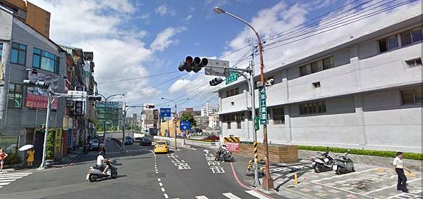 樹林火車站到溪崑店路線圖