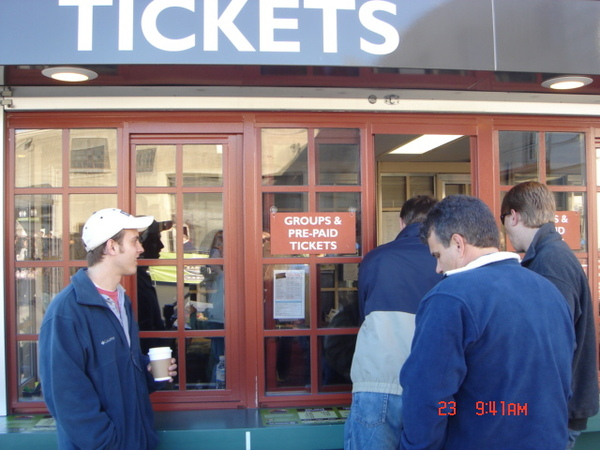 Alcatraz Tour ticket booth