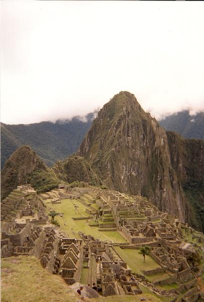 世界聞名的古印加文明遺址 Machu Picchu