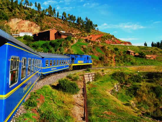 庫斯科到馬丘比丘的觀光火車