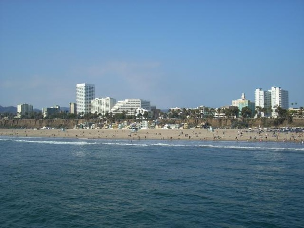 Santa Monica海岸線