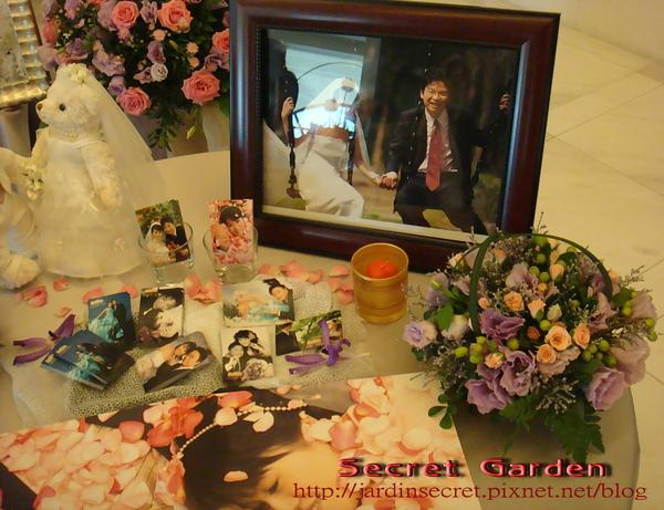 婚禮佈置~維多麗亞-相片區一角.jpg
