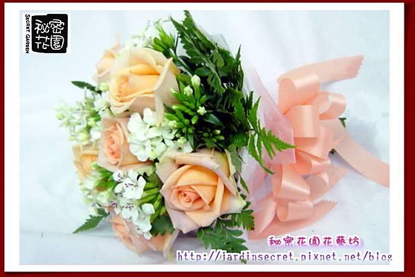 捧花系列~香檳玫瑰.jpg