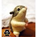 羊毛氈_小倉鼠綿綿06_felt hamster
