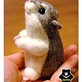 羊毛氈_小倉鼠綿綿04_felt hamster