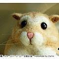羊毛氈_布丁鼠-麻糬06_felt hamster