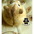 羊毛氈_布丁鼠-麻糬05_felt hamster