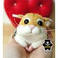 羊毛氈_Jimi_小倉鼠01_felt hamster