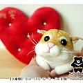 羊毛氈_Jimi_小倉鼠02_felt hamster
