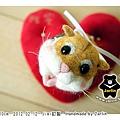 羊毛氈_Jimi_小倉鼠03_felt hamster