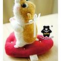 羊毛氈_Jimi_小倉鼠07_felt hamster
