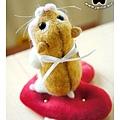 羊毛氈_Jimi_小倉鼠08_felt hamster