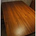 05_柚木餐桌-上油後