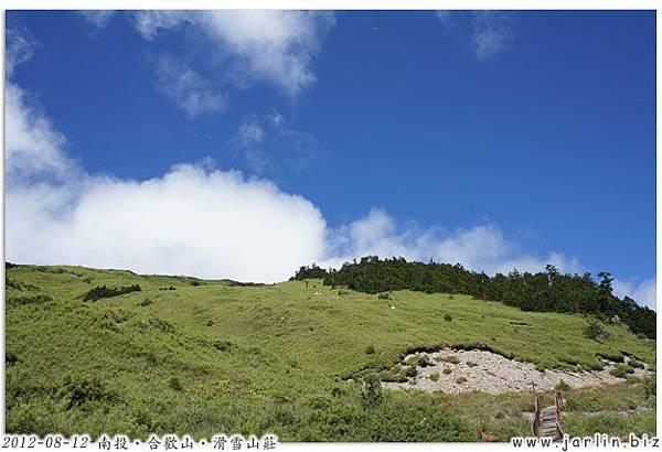 16_合歡山東峰登山口