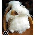 羊毛氈兔子_兔兔小朋友_02_felt rabbit