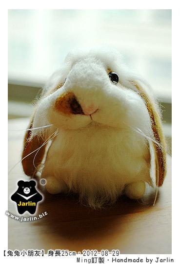 羊毛氈兔子_兔兔小朋友_08_felt rabbit