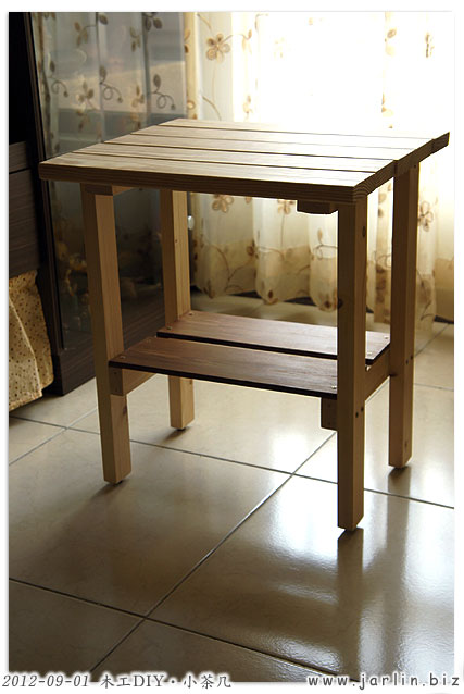 木工DIY-小茶几08