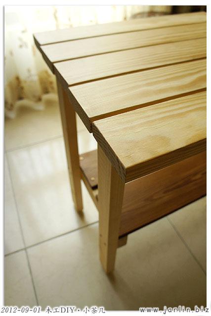 木工DIY-小茶几09