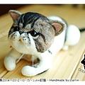 羊毛氈貓咪_felt cat_babe_02