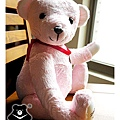 20131008_粉紅出生熊01_teddy bear