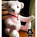 20131008_粉紅出生熊02_teddy bear