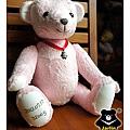 20131008_粉紅出生熊05_teddy bear