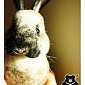 felt rabbit_羊毛氈兔子_皮皮2